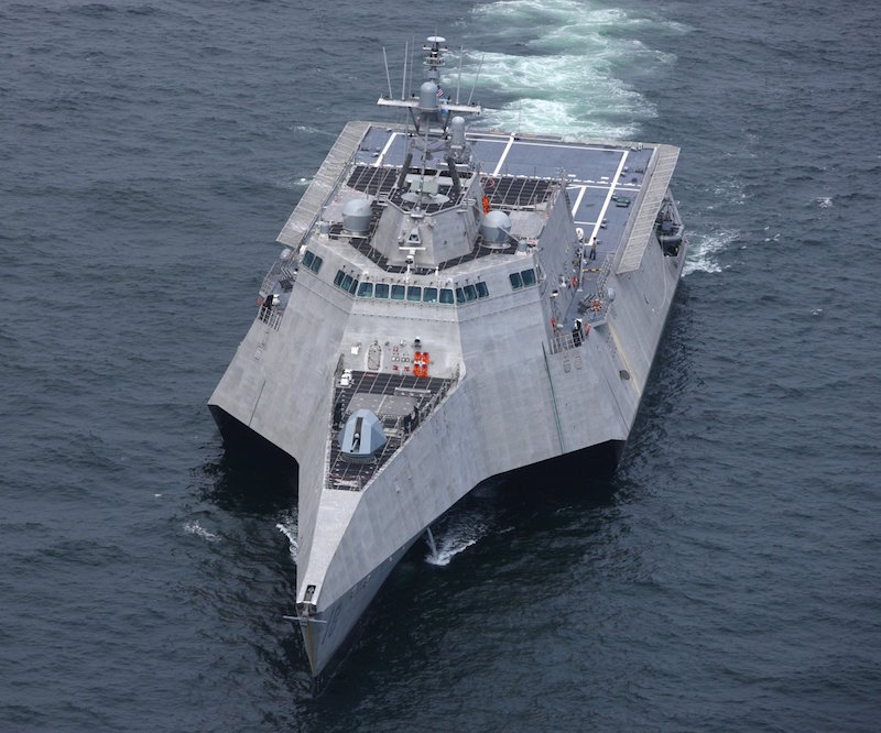 Navy takes delivery of future USS Charleston (LCS-18)