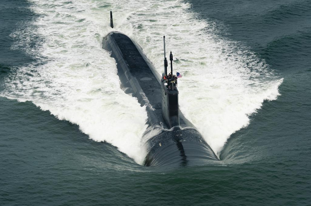Navy Commissioned Submarine Indiana