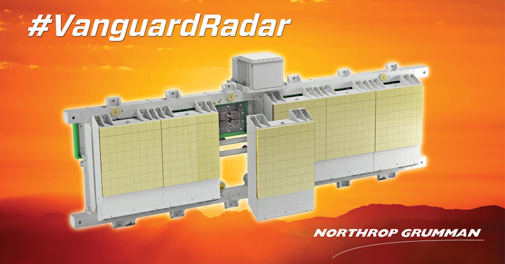Northrop Grumman's Vanguard radar is a modular, scalable radar architecture that can meet a wide range of mission requirements and integrate into a variety of platforms across domains