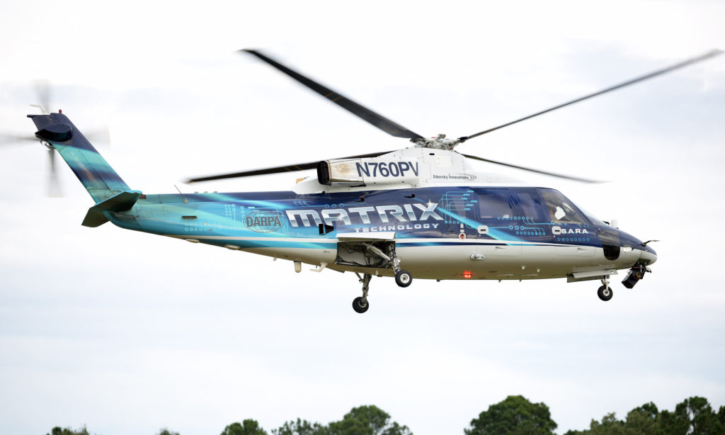 U.S. Army Pilots Fly Autonomous Sikorsky Helicopter in First-Of-Its-Kind Demonstration