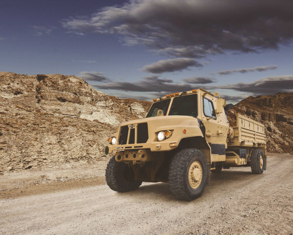 Oshkosh FMTV A2 makes debut at AUSA 2018, multiple JLTVS command the show floor