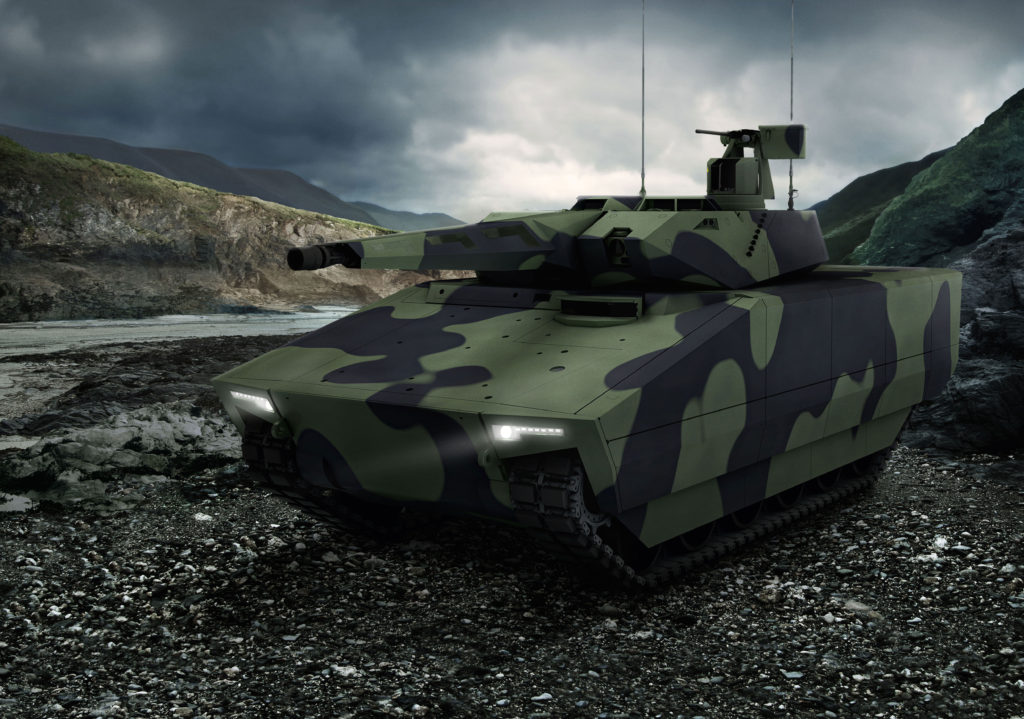 Raytheon will equip the new Lynx with the world's most advanced technology to deliver a modern fighting vehicle that will keep U.S. soldiers far ahead of battlefield threats for decades to come (Photo: Rheinmetall Defence)