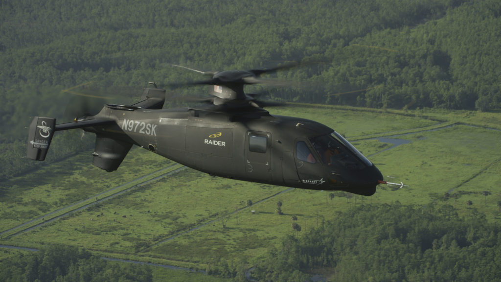 Flight testing of the Sikorsky S-97 Raider helicopter is exceeding expectations at the Sikorsky Development Flight Center (Photo courtesy Sikorsky, a Lockheed Martin company)