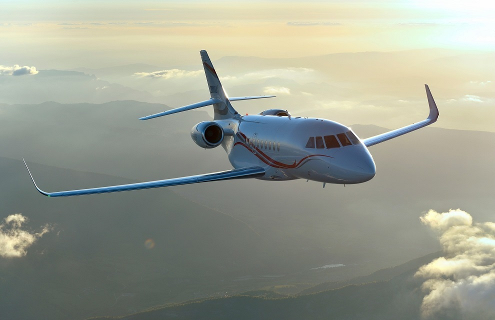 Dassault has been awarded a contract for the definition study for the French Navy's new maritime surveillance aircraft, based on the Falcon 2000 LXS bizjet and which will replace the present Falcon 50M and Falcon 200 Gardians now in service (Dassault photo)