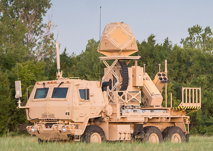 Raytheon's KuRFS radar is a multi-mission radar providing detection of rocket, artillery, mortar and UAS threats by providing a critical sense and warn capability