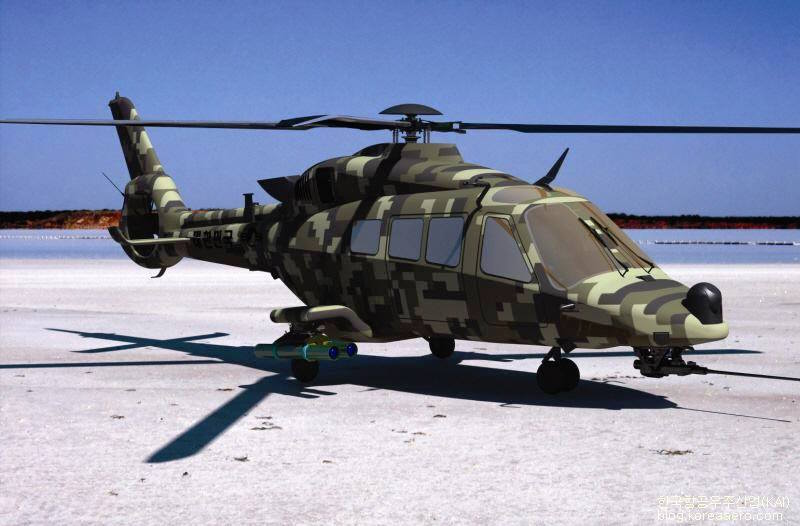 An image of a Light Armed Helicopter (LAH) being developed by Korea Aerospace Industries (KAI) provided by the company (Yonhap)