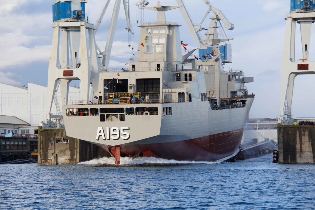 Navantia launches Nuship Supply for the Royal Australian Navy
