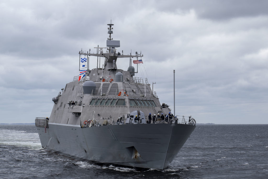 The ship will be assigned to the Fifth Fleet in the Persian Gulf