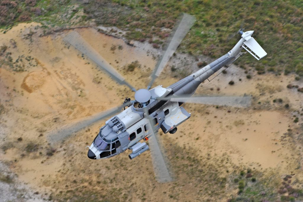 The H225Ms selected by Hungary will be equipped with state-of-the-art communication capabilities and will be used for transport, combat search and rescue, and special operations missions