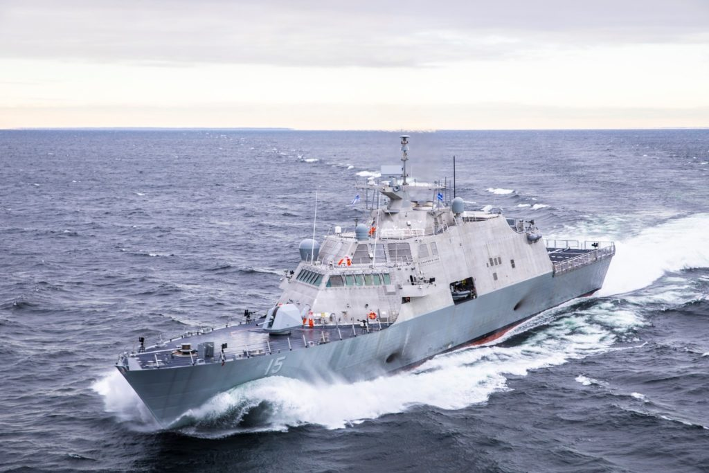 Future USS Billings (LCS-15) completes acceptance trials