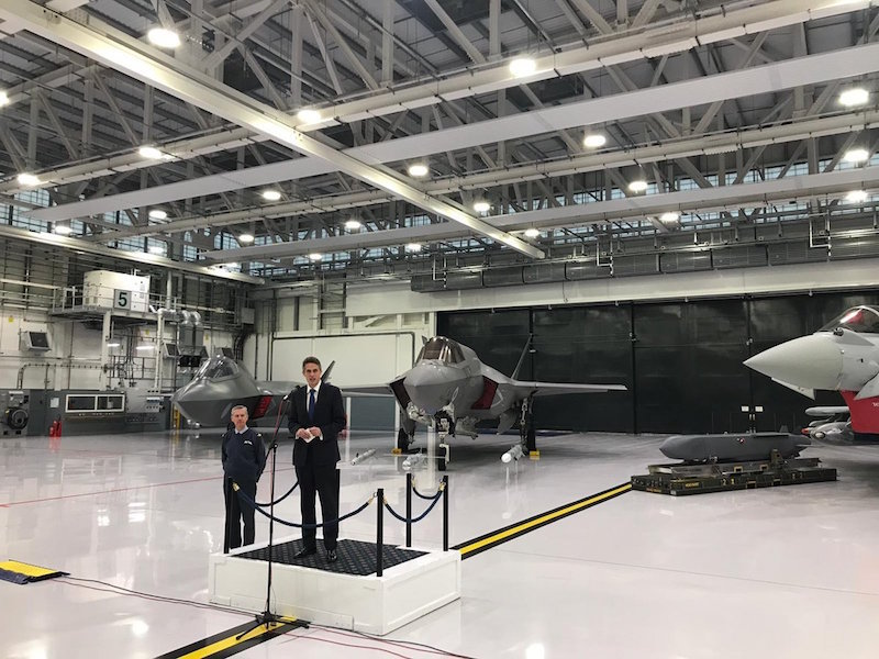 Defence Secretary Gavin Williamson sets sights on next century of British air power as major fighter jet milestones are reached