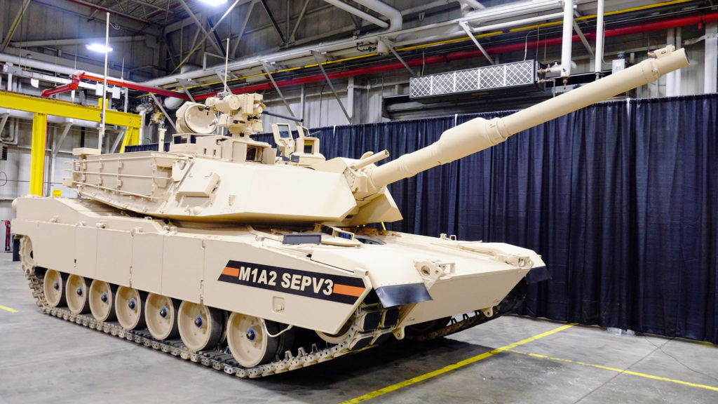 U.S. Army Awards General Dynamics Delivery Order to Upgrade 174 Abrams Main Battle Tanks