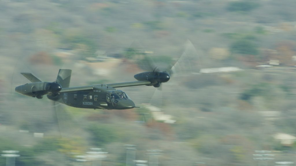 Bell V-280 Valor achieves key milestone: forward flight at 280 knots/322 mph/519 km/h
