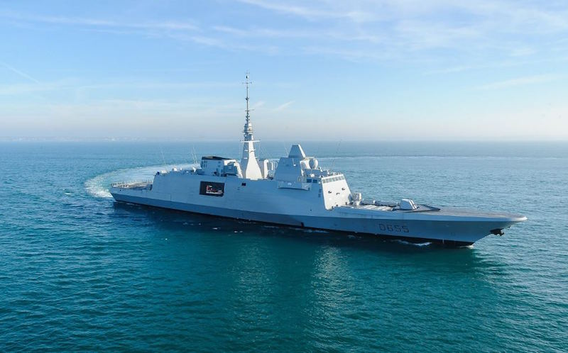 The French Navy has already put four FREMM frigates into active service, and FNS Bretagne (D655) is now the fifth; three more will follow, two of them in a new, air-defense version