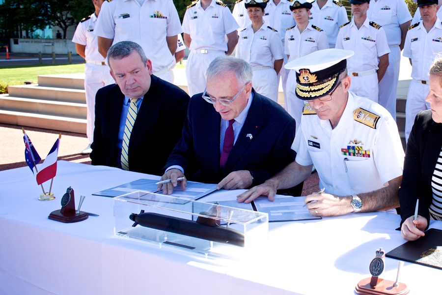 Australia, France sign A$50 Bn contract for 12 submarines