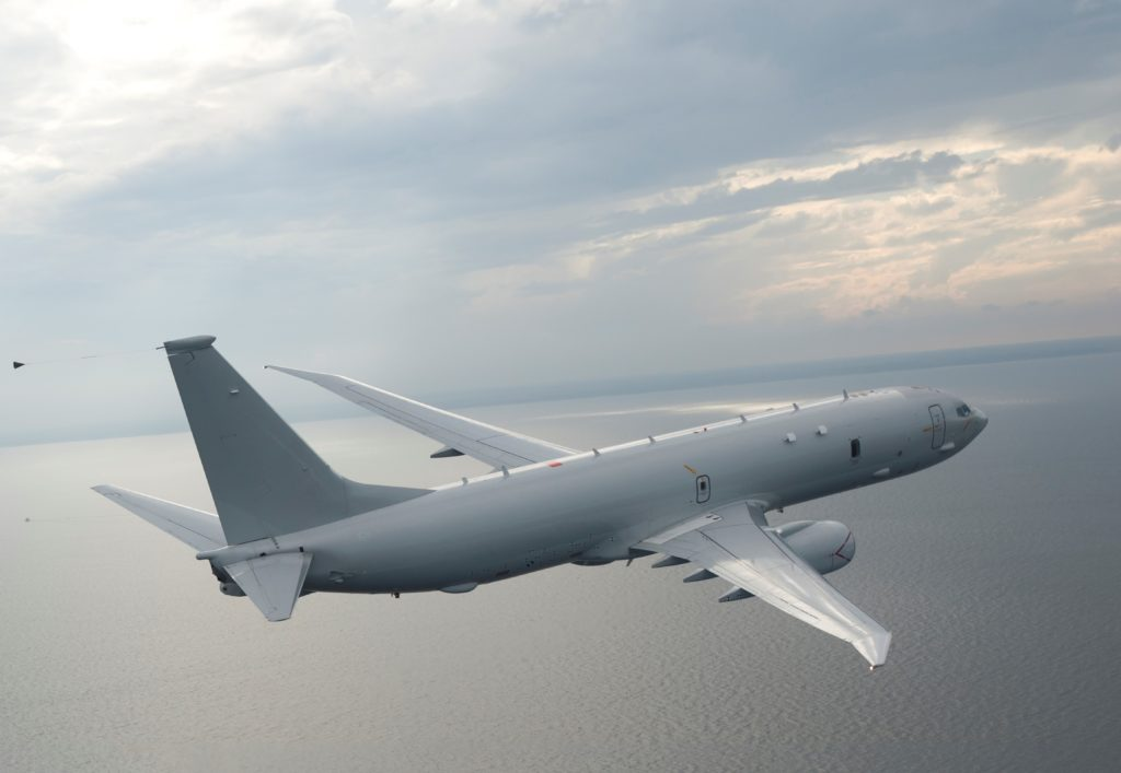 The U.S. Navy has awarded Boeing a $2.4 billion production contract for the next 19 P-8A Poseidon aircraft (Boeing photo)