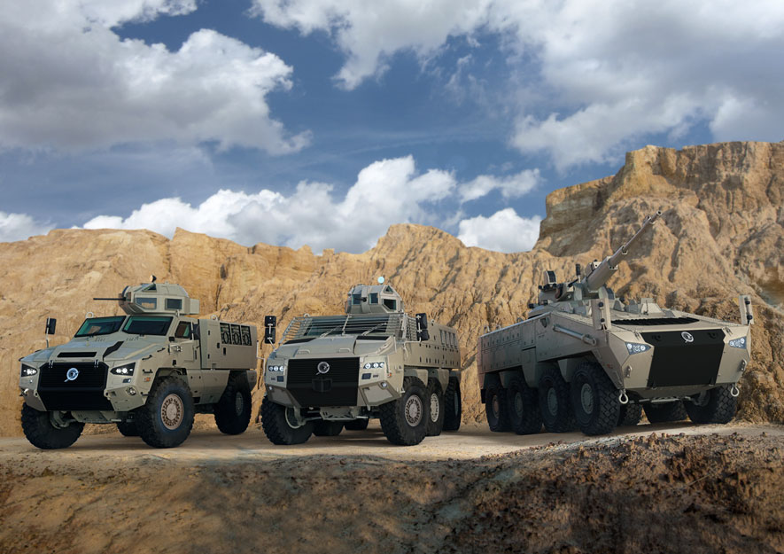 Paramount Group launches next-generation armored vehicle at IDEX 2019 (Paramount photo)