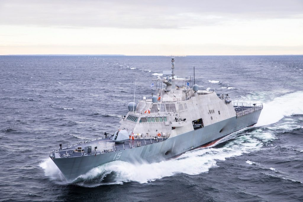 Navy accepts delivery of future USS Billings (LCS-15)