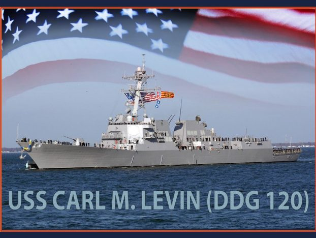 Keel Laid for future USS Carl M. Levin (DDG-120)
