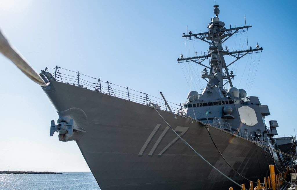 Huntington Ingalls Industries Delivers Guided Missile Destroyer USS Paul Ignatius (DDG-117) to U.S. Navy
