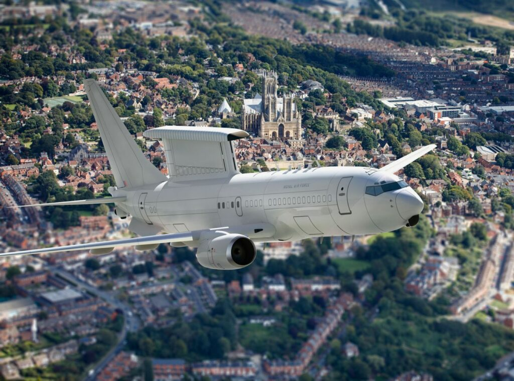 Wedgetail to be RAF's new early warning radar aircraft