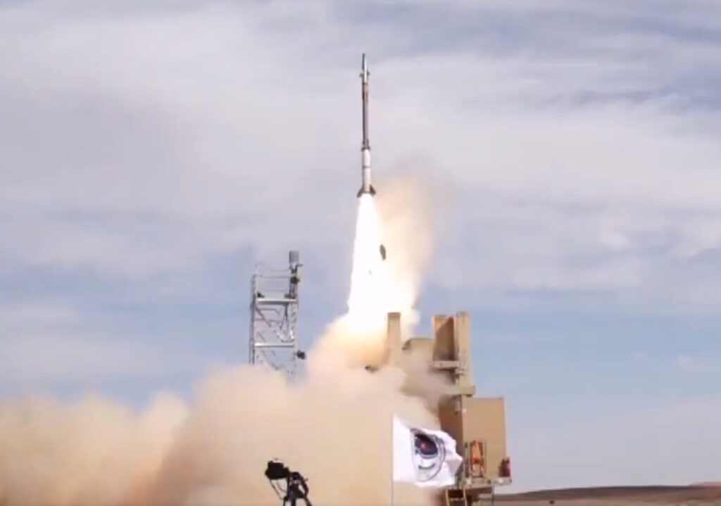 IMDO and MDA Successfully Complete David's Sling Weapon System Intercept Test Series