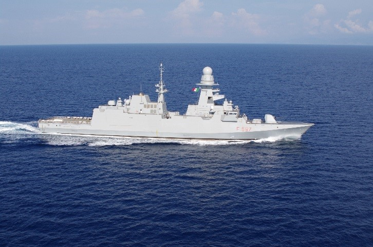FREMM «Antonio Marceglia» (F-597) delivered to the Italian Navy