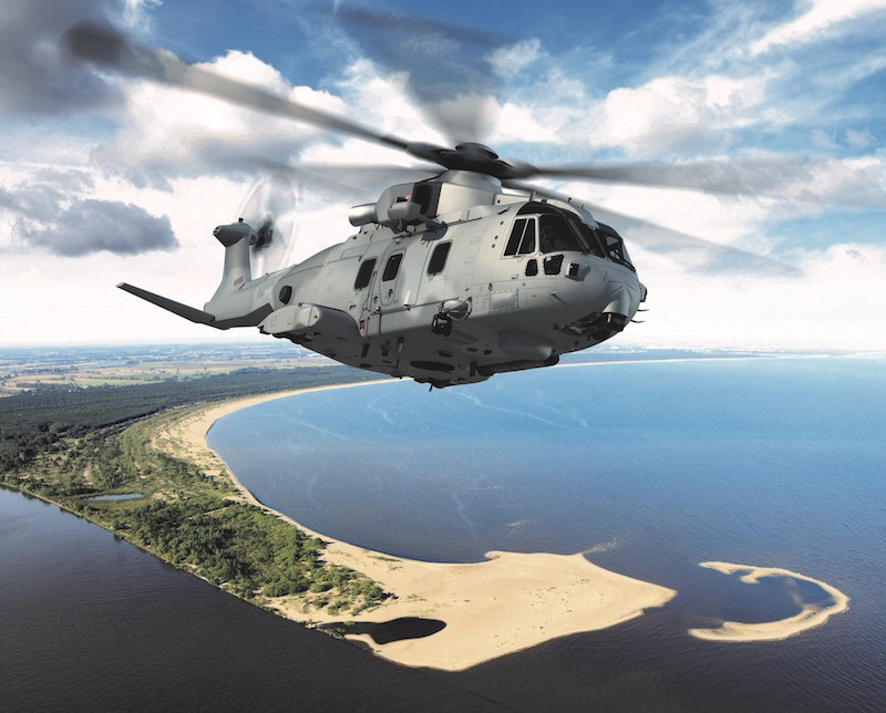 Leonardo: 380 million EUR contract for maritime multirole helicopters with the Polish Ministry of National Defense