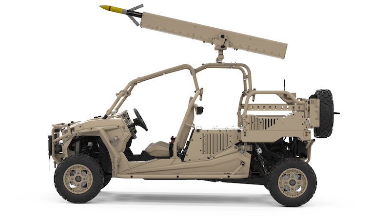 Arnold Defense announces the first order for Fletcher Laser Guided Rocket Launcher
