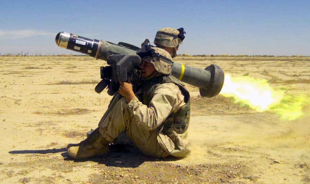 Georgia receives all Javelin missile systems