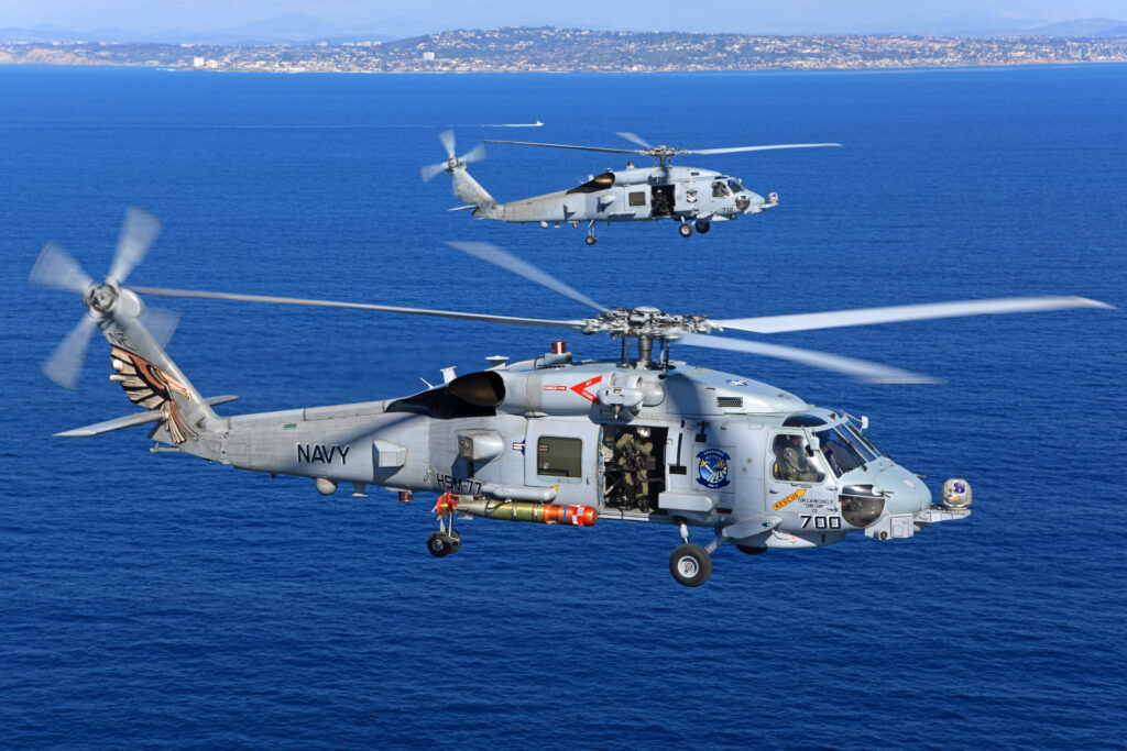 MH-60R Multi-Mission Helicopters