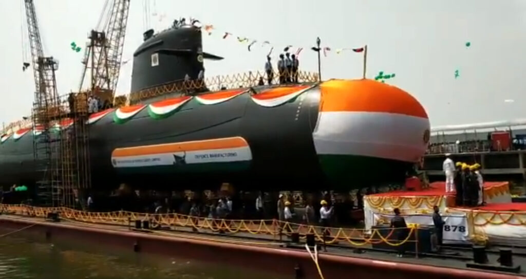 Indian Navy's 4th Scorpene-class made in India submarine launched