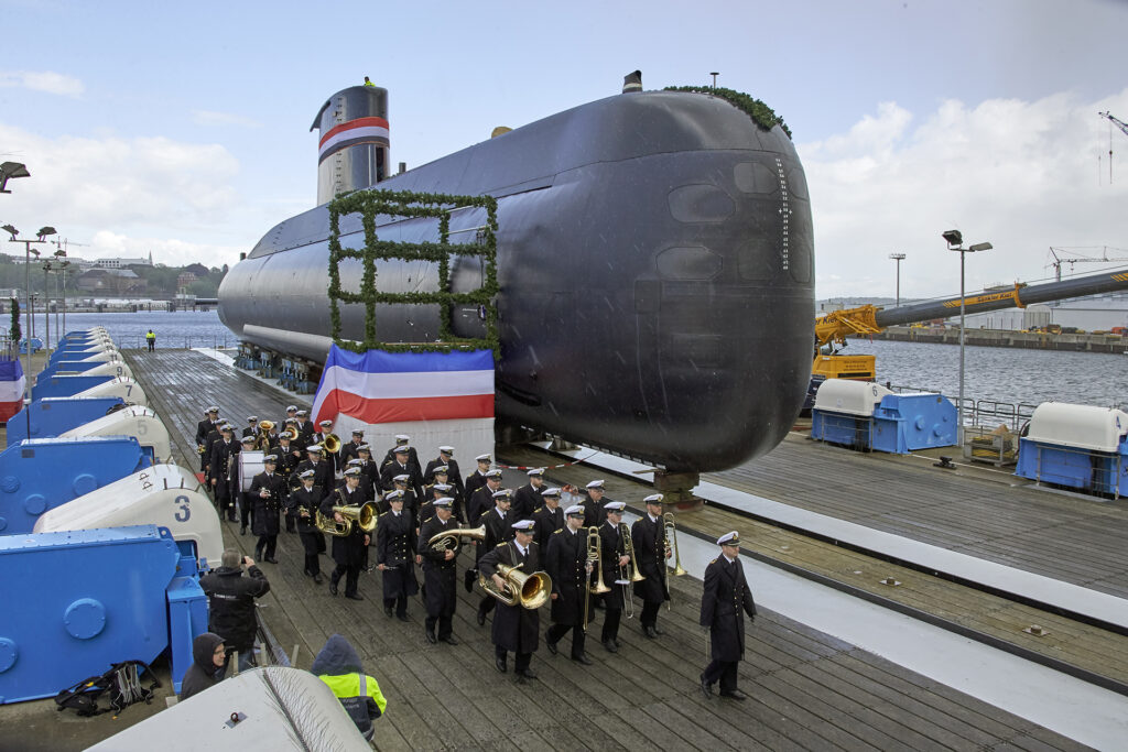 Naming and launching of third Egyptian submarine «made in Germany»