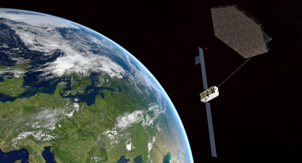 Space Manufacturing Reflector